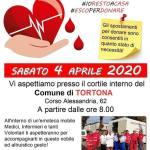 Sabato 4 aprile l'autoemoteca della Croce Rossa sarà nel piazzale interno del Comune di Tortona