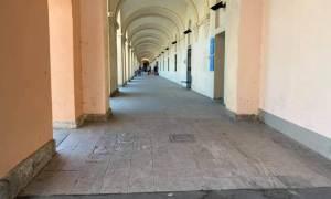 Tortona – I vandali hanno agito nella notte, distrutto il pavimento della Guardia Medica