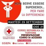 Martedì sera la presentazione del corso per diventare Volontario in Croce Rossa