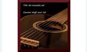 Domani sera a Volpedo il concerto dei TDK 80