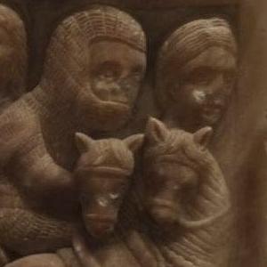 caballeros templarios en la catedral de Tortosa