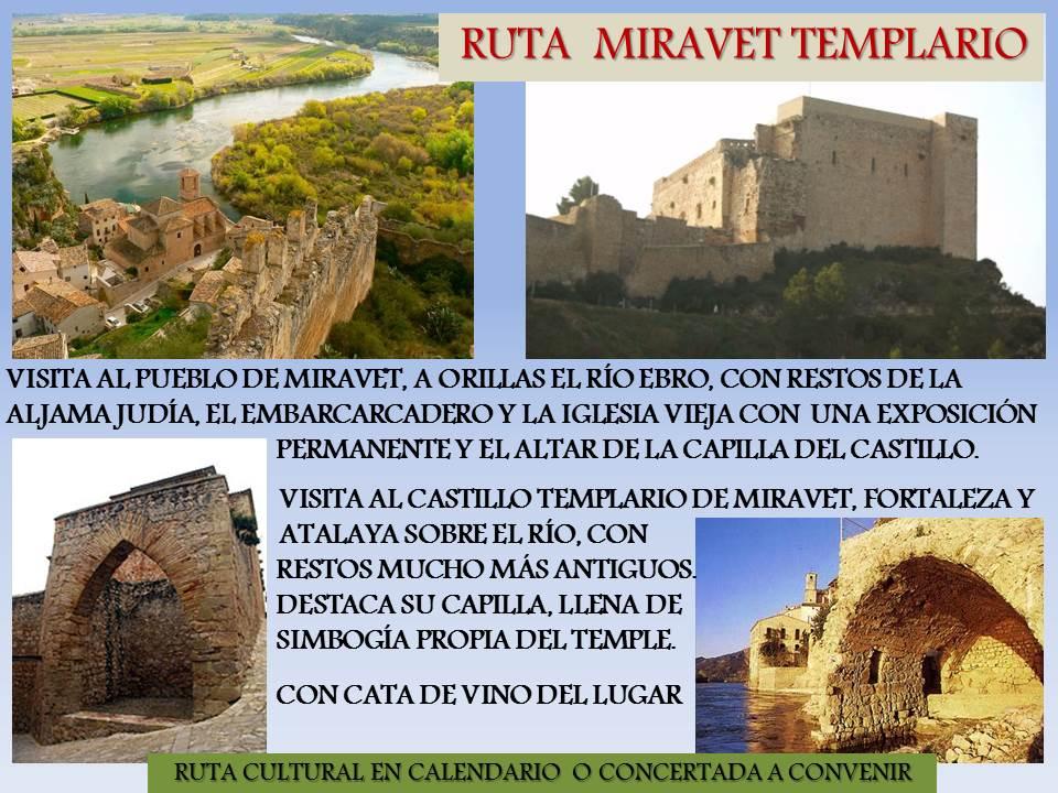 Ruta Miravet Templario