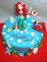 tort ariel mica sirena 55