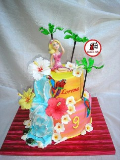 tort barbie hawaii