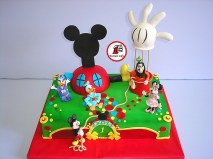 tort cake club mickey mouse 2
