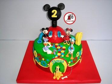 tort clubul lui mickey mouse_rotund 18