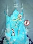 tort Elsa Frozen 2