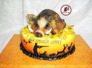 tort mistret vanatoare_cake wild hog hunting 0
