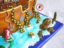 tort piratii din tara de nicaieri si ariel 8