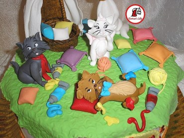 Tort pisicile aristocrate_Cake Aristocats4