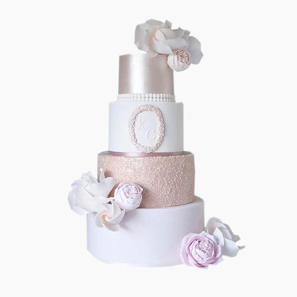 Свадебный торт №002