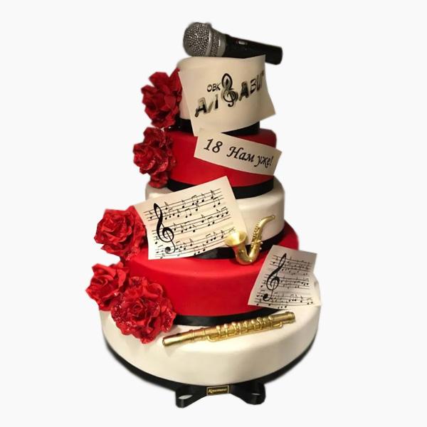 Корпоративный торт №007