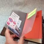 トラベラーズノート用メモホルダーを自作!トラベラーズノートが更に便利に使える!