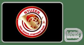 nyuzen.hssb_ロゴデザイン,ブランドマーク,キャラクター,オシャレ,かわいい,かっこいい,品がある,デザイン,Logo,Mark,toru chang,富山県立入善高等学校,ブラスバンド部