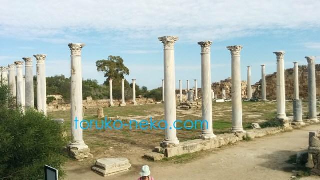 北キプロス サラミス 神殿跡 サラミス遺跡