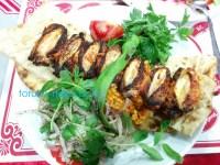 カナット カナト トルコ料理 世界三大料理 手羽先 美味しい鶏肉の画像 写真 しし唐辛子