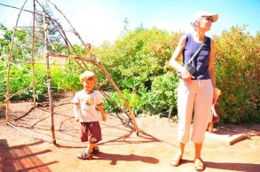 Hangin' out at Red Butte Garden.