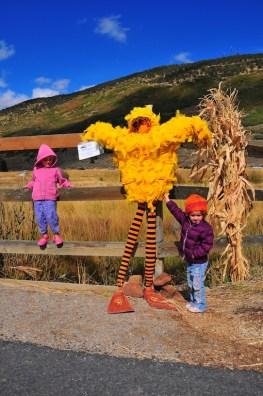 Aspen, Serisa, and a Big Bird looking one