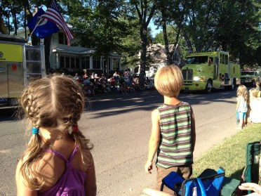 4th of July Chisago parade.