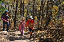 Hiking at the Canyons