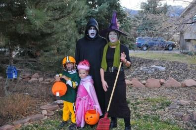 The Moe/Hoffmans - Halloween 2012