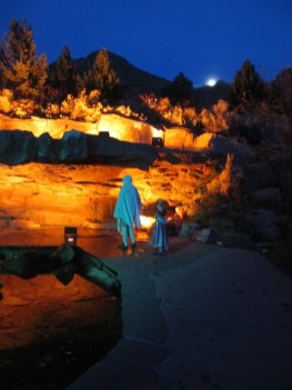 Cool lights at Red Butte