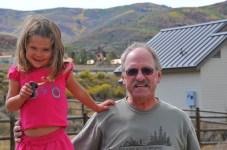 Tegan and Grandpa!