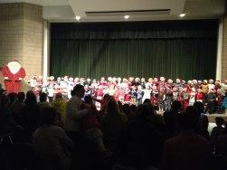 Kindergarten through third graders