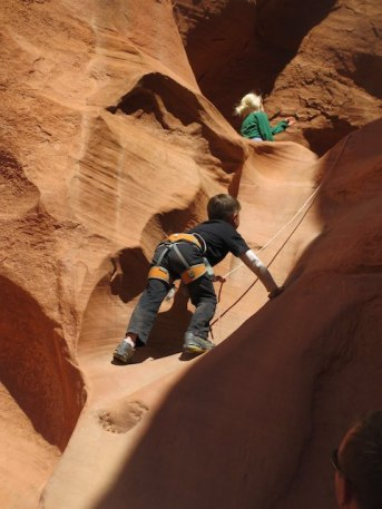 Jeremiah - climb on!