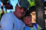Grandpa and Mr. T
