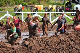 The final mud bath