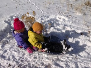 An innocent afternoon on the sled