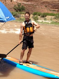 Bryan on the sup