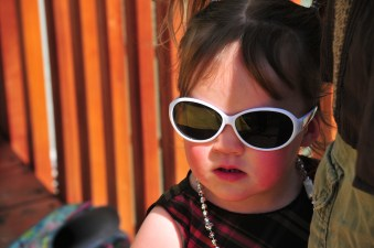 Aliya stays cool
