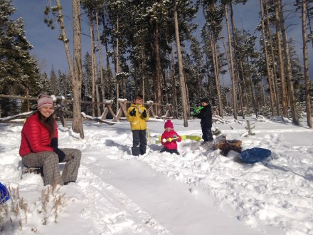 Even more sledding!