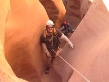 Bryan on rope