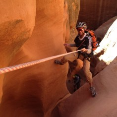 Josh on rope