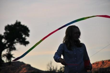 Ribbon silhouette