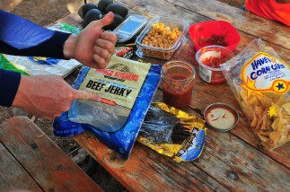 Joel likes his jerky.