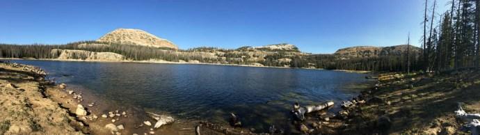 Wall Lake pano