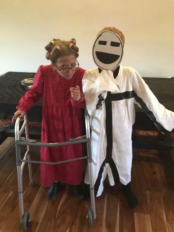 Granny and the Stickman