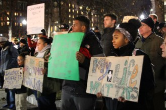 The Reddit thread mirrored the conversation happening at watercoolers, real and virtual, across the country. Many discussed the relationship between Eric Garner case with Michael Brown and Trayvon Martin. Topics ranged from racism, racial profiling, activism, and the use of force by police.