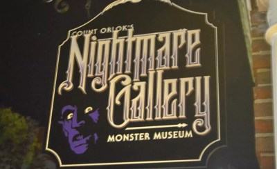Count Orlok's Nightmare Gallery Salem Massachusetts