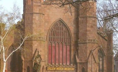 salem witch museum exterior