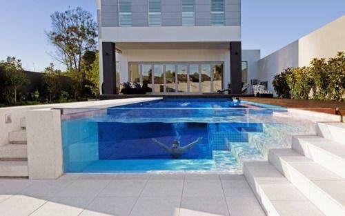 Arquitectura piscinas modernas