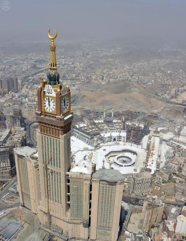 Abraj Al Bait, en Arabia Saudí