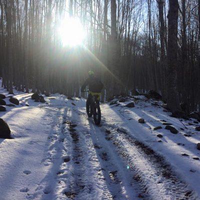 fat bike su neve