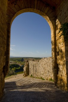 View of Tuscany from Monteriggioni