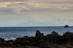 The South Island in the distance