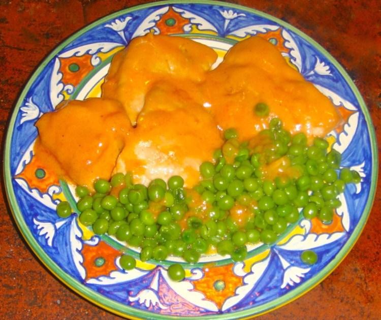 Chicken breast with Mascarpone & Tomato Sauce